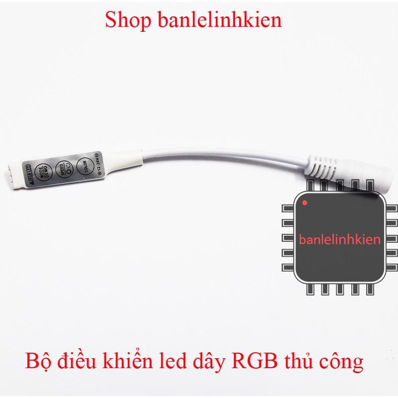 Bộ điều khiển led dây RGB thủ công - 3439359 , 897193896 , 322_897193896 , 19000 , Bo-dieu-khien-led-day-RGB-thu-cong-322_897193896 , shopee.vn , Bộ điều khiển led dây RGB thủ công