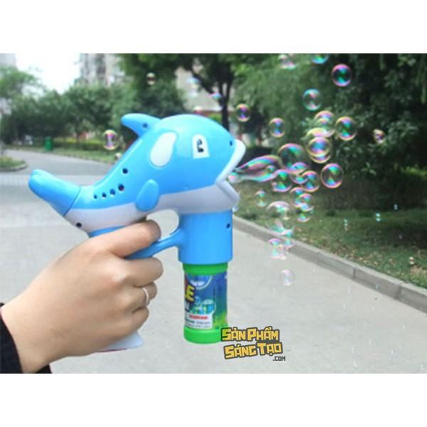 (giảm 30%) súng bắn bong bóng nước hình cá