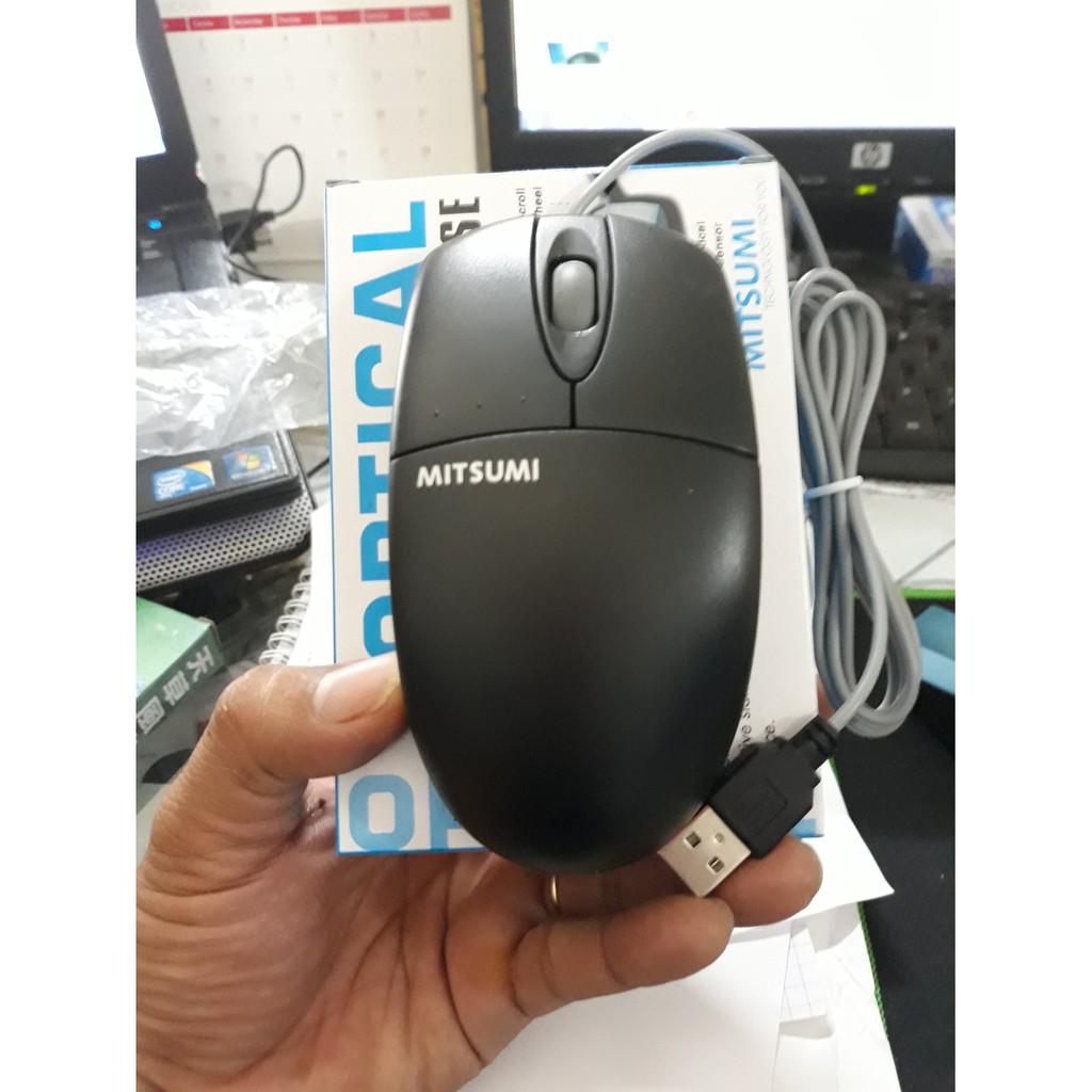Chuột quang MITSUMI LỚN (OPTICAL WHEEL USB)