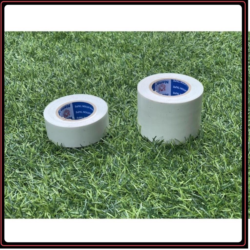 Băng Keo Nhật 3cm Thể Thao Bảo Vệ Cơ Khớp (loại 3cm màu trắng kem sữa) Băng Cuốn Chống Căng Cơ