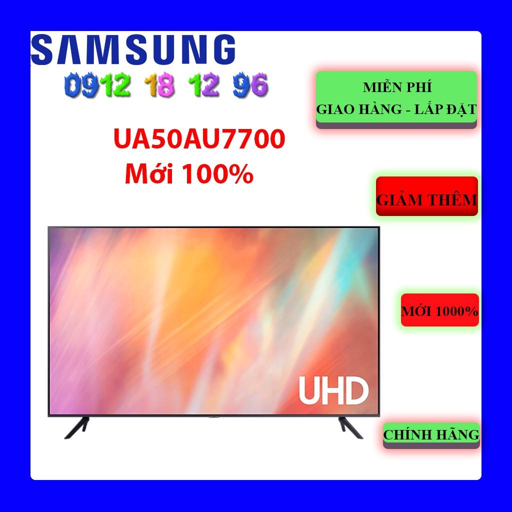 FREESHIP _ Tivi Samsung 50AU7700 Smart UHD 4K 50 inch UA50AU7700