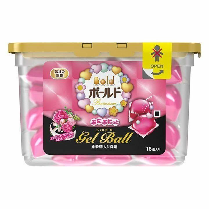 Viên giặt xả Ariel Nhật Bản