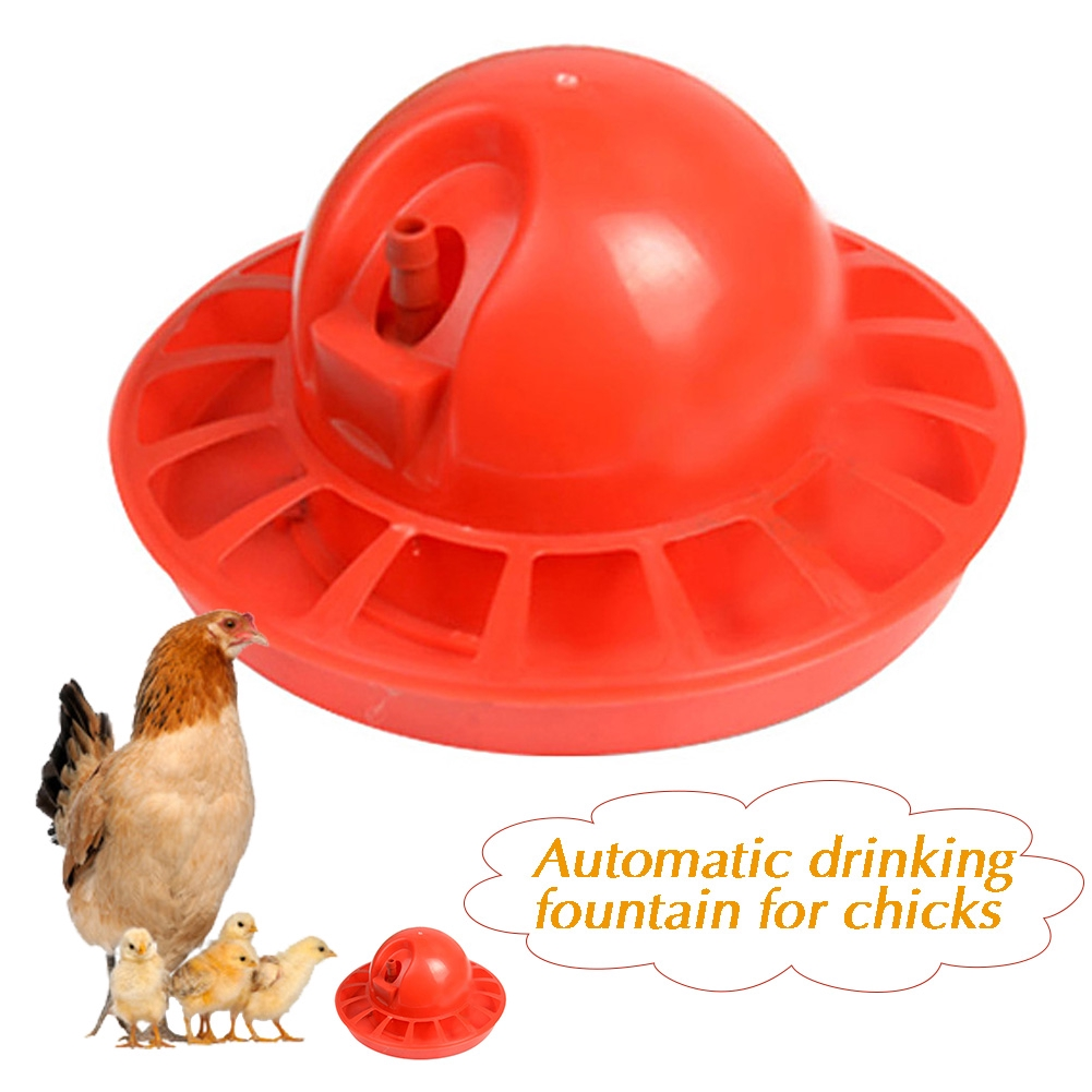 Bowl Automatic Hose And Tee Commercial Use Water Line Drinking Fountain Dispenser Bottle Home Chicken Farm Poultry