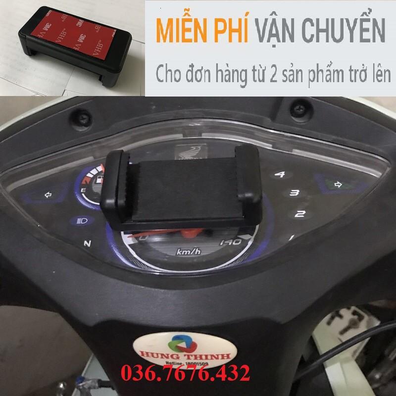 Kẹp điện thoại xe máy dùng băng keo 3M siêu chắc