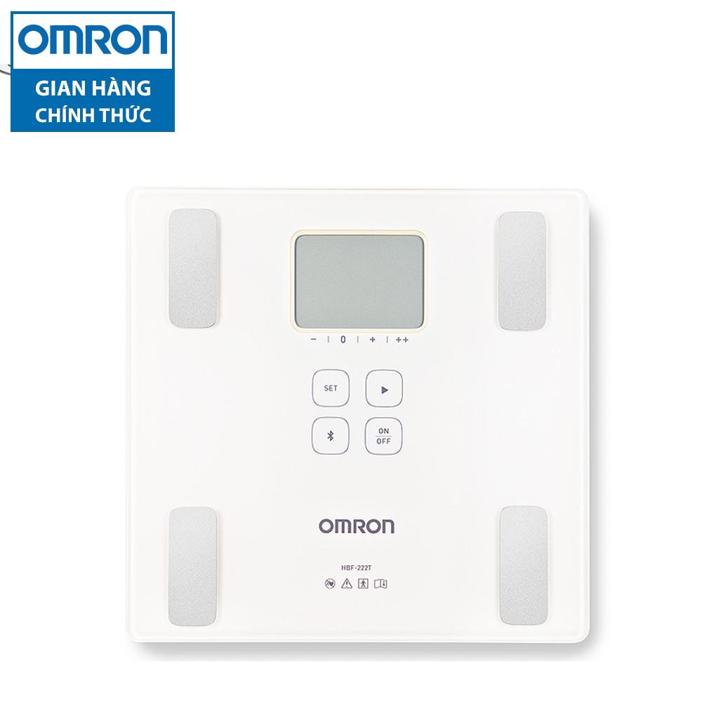 [Nhập OMRONOCT giảm 100K] Máy đo lượng mỡ cơ thể Omron HBF-222T