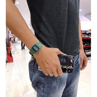 (Giá sỉ)Đồng hồ điện tử unisex dây nhựa có báo thức WR789