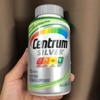 Viên uống Centrum Silver Adults 50+ 325 viên – Bổ sung Vitamin cho Nam và Nữ trên 50 tuổi