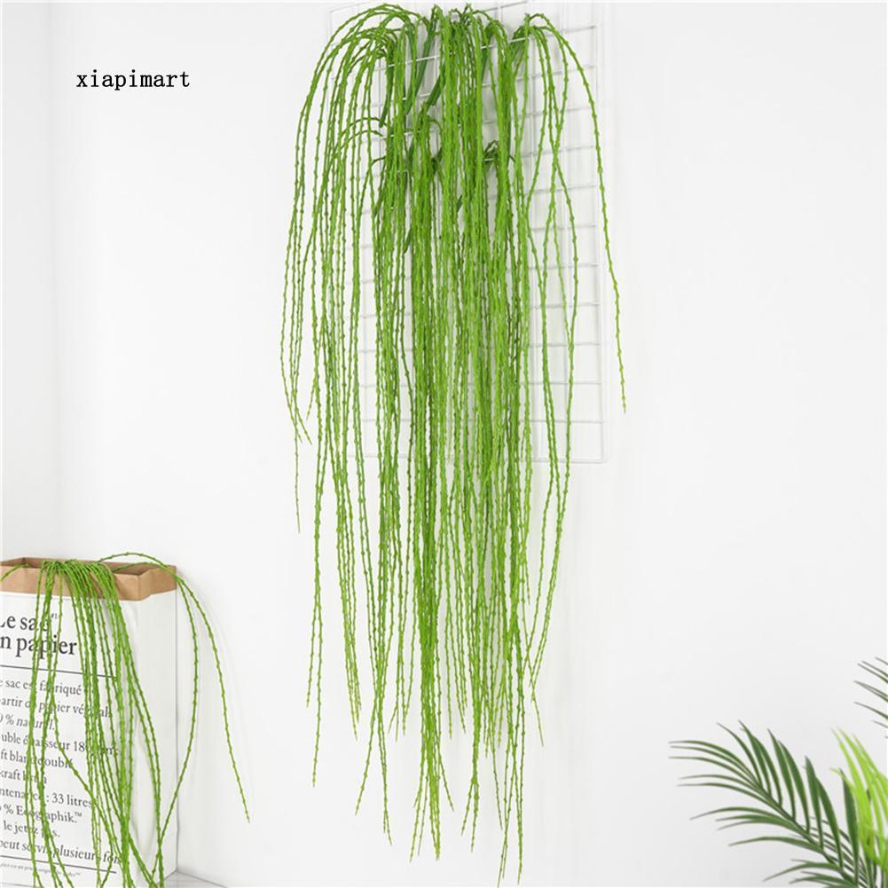 LYY_1Pc Artificial Willow Twig Plant Hanging Garden DIY Party Wedding Wall Decor