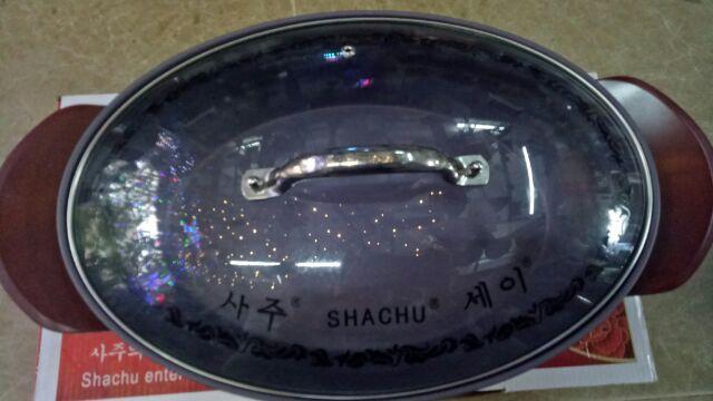 [Mã 267ELSALE hoàn 7% đơn 300K] Chảo đa năng Shachu bầu dục/oval