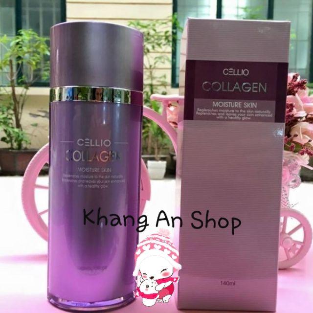 Nước Hoa Hồng Collagen Moisture Skin Cellio