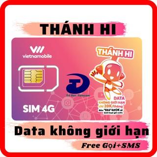 Sim 4G Vietnamobile Thánh Hi 4G 300Mb/ngày miễn phí Data khi hết tốc độ cao – Sim Giá Rẻ Gọi & SMS Nội mạng Miễn Phí