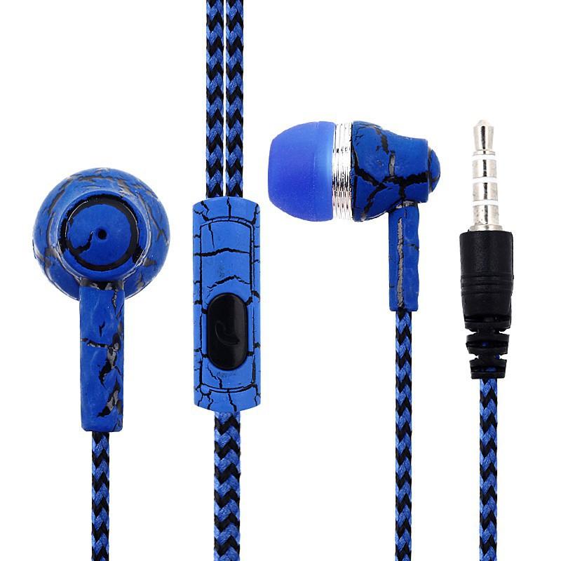 Tai nghe nhét tai có dây tích hợp micro cho điện thoại