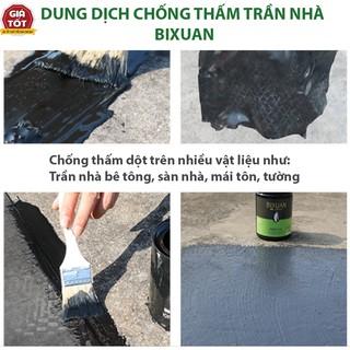 Sơn chống thấm trần nhà Bixuan, chống thấm tường, chống thấm sàn, giải pháp chống thấm dột hoàn hảo cho trần nhà mái nha