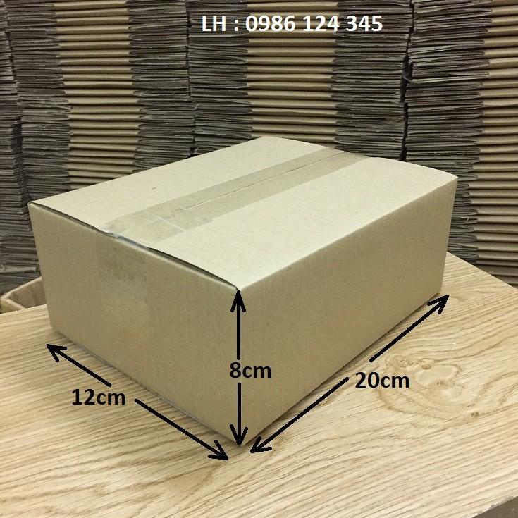 20x12x8 hộp carton đóng hàng [ vỏ , ốp lưng, màn hình điện thoại ]