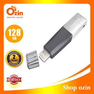 [RẺ VÔ ĐỊCH] USB lighting 3.0 SanDisk iXpand Mini Flash 128GB 64GB cho iphone, ipad
