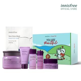 [Mã COSIF10 giảm 10% đơn 400K] Bộ sản phẩm ngăn ngừa lão hóa sớm Innisfree Jeju Orchid Enriched Cream Set thumbnail