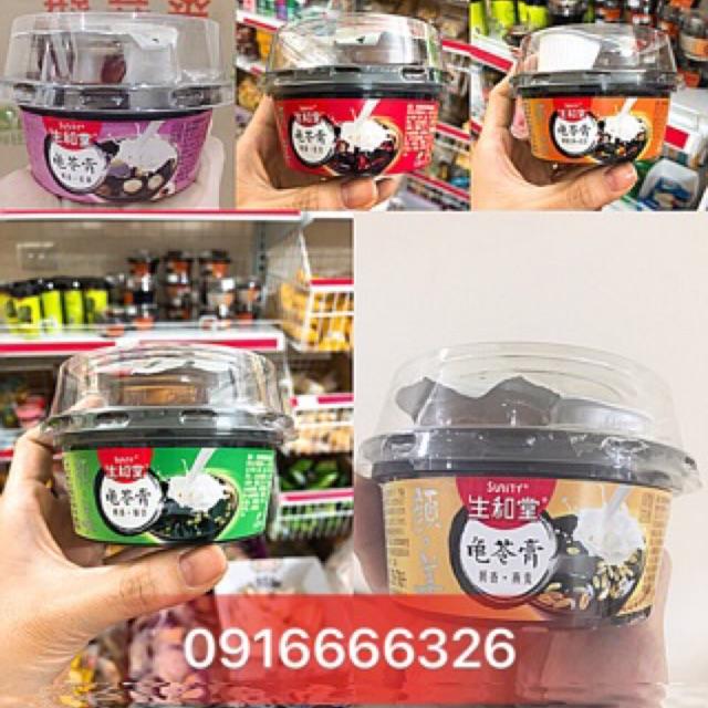 Thạch Cao Quy Linh Đài Loan sunity( kèm mật ong và sữa dừa) hộp 222g