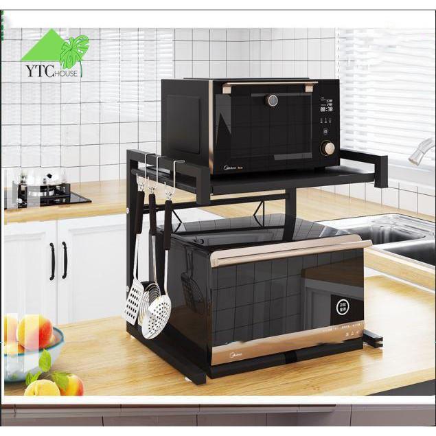 Kệ lò vi sóng, kệ nhà bếp tùy chỉnh khung inox (KLVS01)