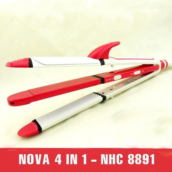 Lược điên Nova 8891 4 in1 chính hãng