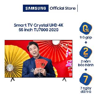 """[Nhập ELCE70 giảm 6%] Miễn phí lắp đặt - Smart Tivi 4K UHD Samsung 55 inch UA55TU7000KXXV giá chỉ còn <strong class=""""price"""">969.000.000.000đ</strong>"""