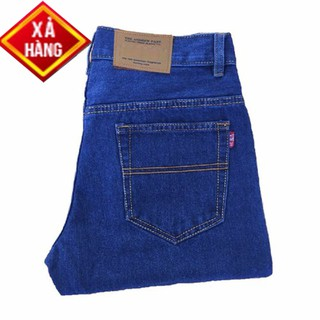 Quần Jean dài Nam Ống suông 03 màu cơ bản, form chuẩn đẹp - Có size Bự 50-90kg-Jean001
