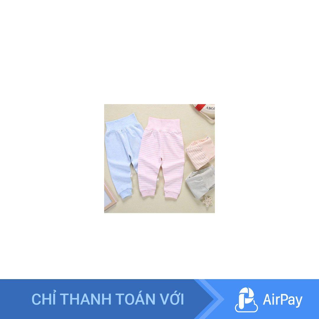 Mã K101 Quần cạp cao giữ ấm bụng cho bé