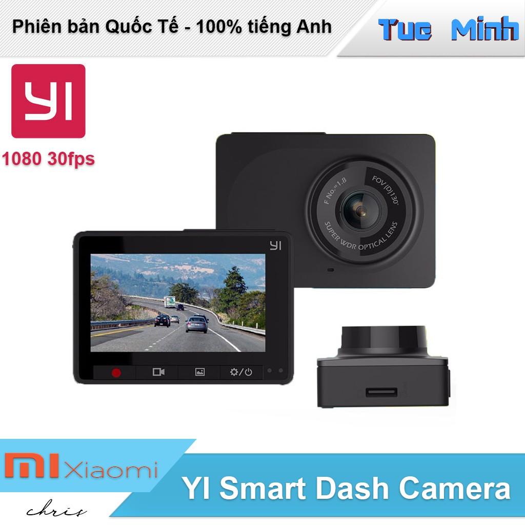 Camera hành trình xe hơi ô tô Xiaomi YI Smart Car 1080p 30fps - Phiên bản Quốc tế, 130 độ - 9981119 , 1142739676 , 322_1142739676 , 950000 , Camera-hanh-trinh-xe-hoi-o-to-Xiaomi-YI-Smart-Car-1080p-30fps-Phien-ban-Quoc-te-130-do-322_1142739676 , shopee.vn , Camera hành trình xe hơi ô tô Xiaomi YI Smart Car 1080p 30fps - Phiên bản Quốc tế, 13