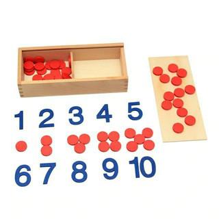 Chấm Tròn Và Số Montessori CX