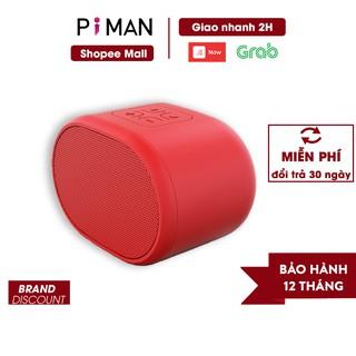 Loa bluetooth mini không dây Pin trâu nghe nhạc hay âm thanh chất lượng hỗ trợ cắm thẻ nhớ và usb P117 Piman thumbnail