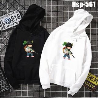 Áo hoodie PUBG unisex chất liệu nỉ bông mã HSP561