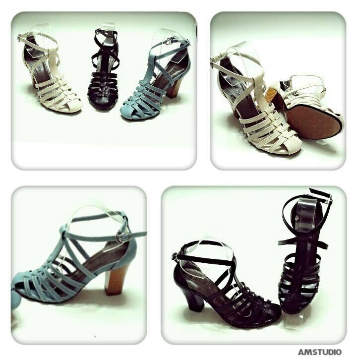 giày sandal chiến binh cao gót, 7cm