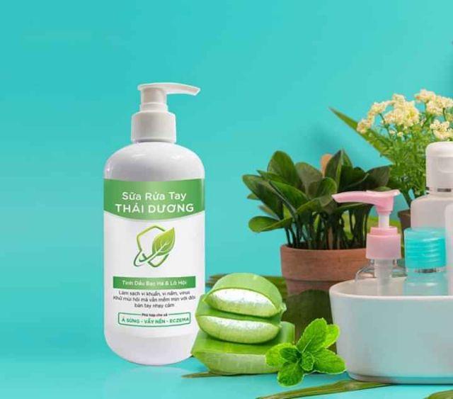 Sữa rửa tay sạch khuẩn, dưỡng da Thái  Dương