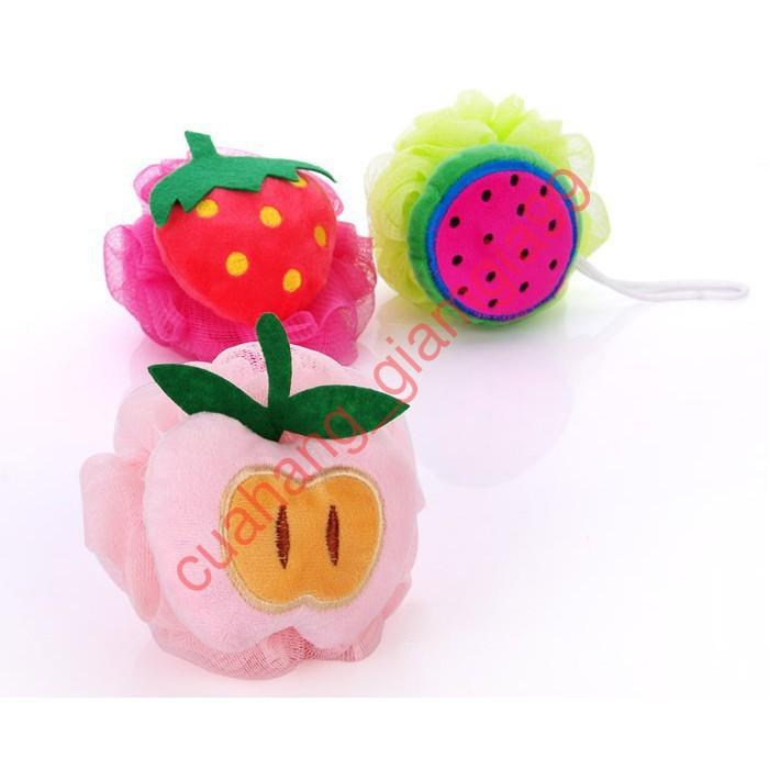 [GIÁ TỐT] Bông tắm tạo bọt hình trái cây đáng yêu loại tốt - cuahang_giamgia99