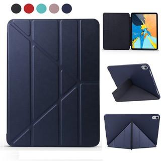 Ốp lưng Folio cho iPad Pro 11 2018 Mềm Silicone PU Leather Flip Stand Smart Cover Magnet Auto Sleep Wake cho iPad Pro 11