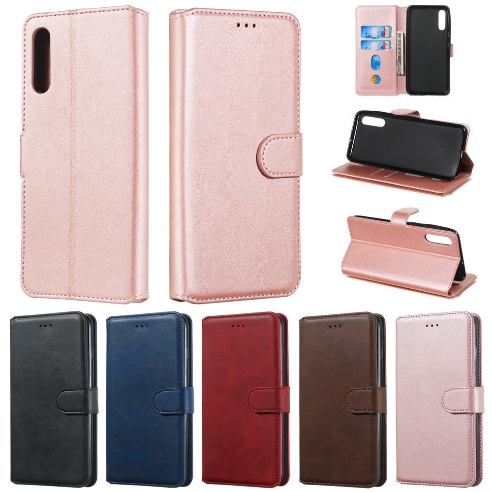 Bao da điện thoại bằng PU có ngăn đựng thẻ dạng lật cho Samsung J5 J7 Prime J5 J7 Pro J4 J6 Plus J7 J8