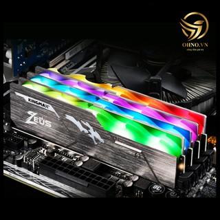 RAM Tản Nhiệt DDR4 16G Kingmax Heatsink Zeus RAM Máy Tính PC Bus 3000 Mới Có LED RGB Chính Hãng - OHNO VIỆT NAM thumbnail