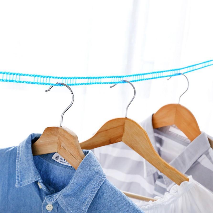 Dây treo quần áo, dây phơi đồ, quần áo thông minh đa năng dài 5m