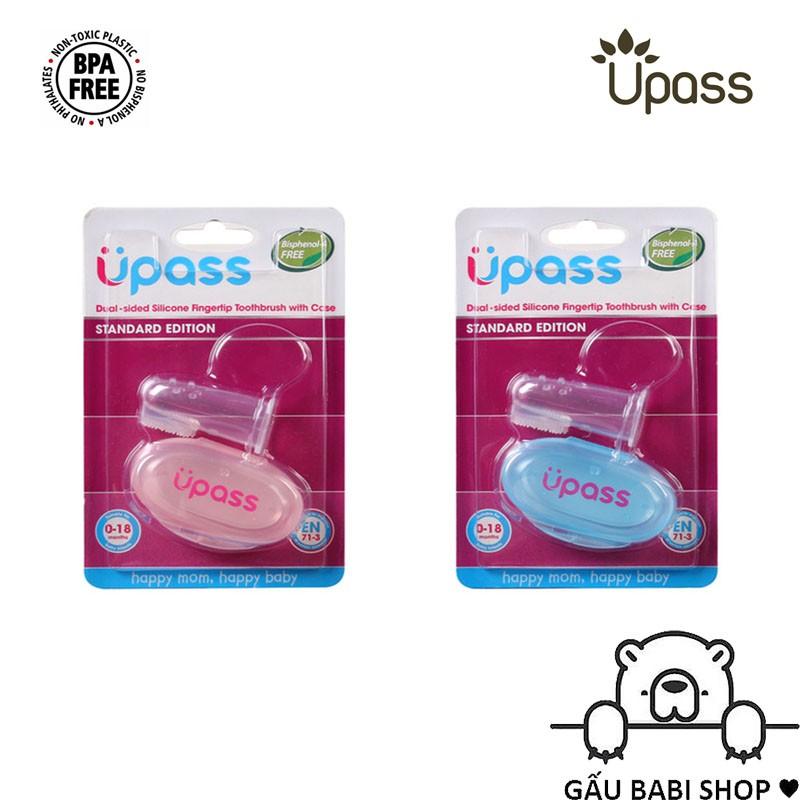 Rơ lưỡi xỏ ngón UPASS UP4002N silicone siêu mềm kèm hộp đựng - Hàng chính hãng
