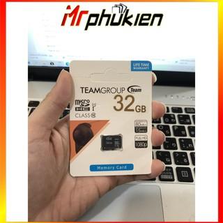 [Mã ELFLASH5 giảm 20K đơn 50K] Thẻ nhớ Team Group MicroSD 32GB - SmartShop