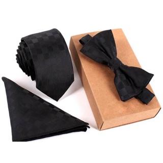 Set cà vạt bản nhỏ