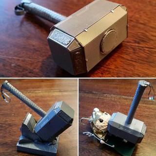 [XẢ HÀNG]Búa Thor – Mô hình kim loại 3D