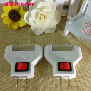 [IN*VN2]High quality White LED Night Light Decoration Bedroom Plug In The Power To Use