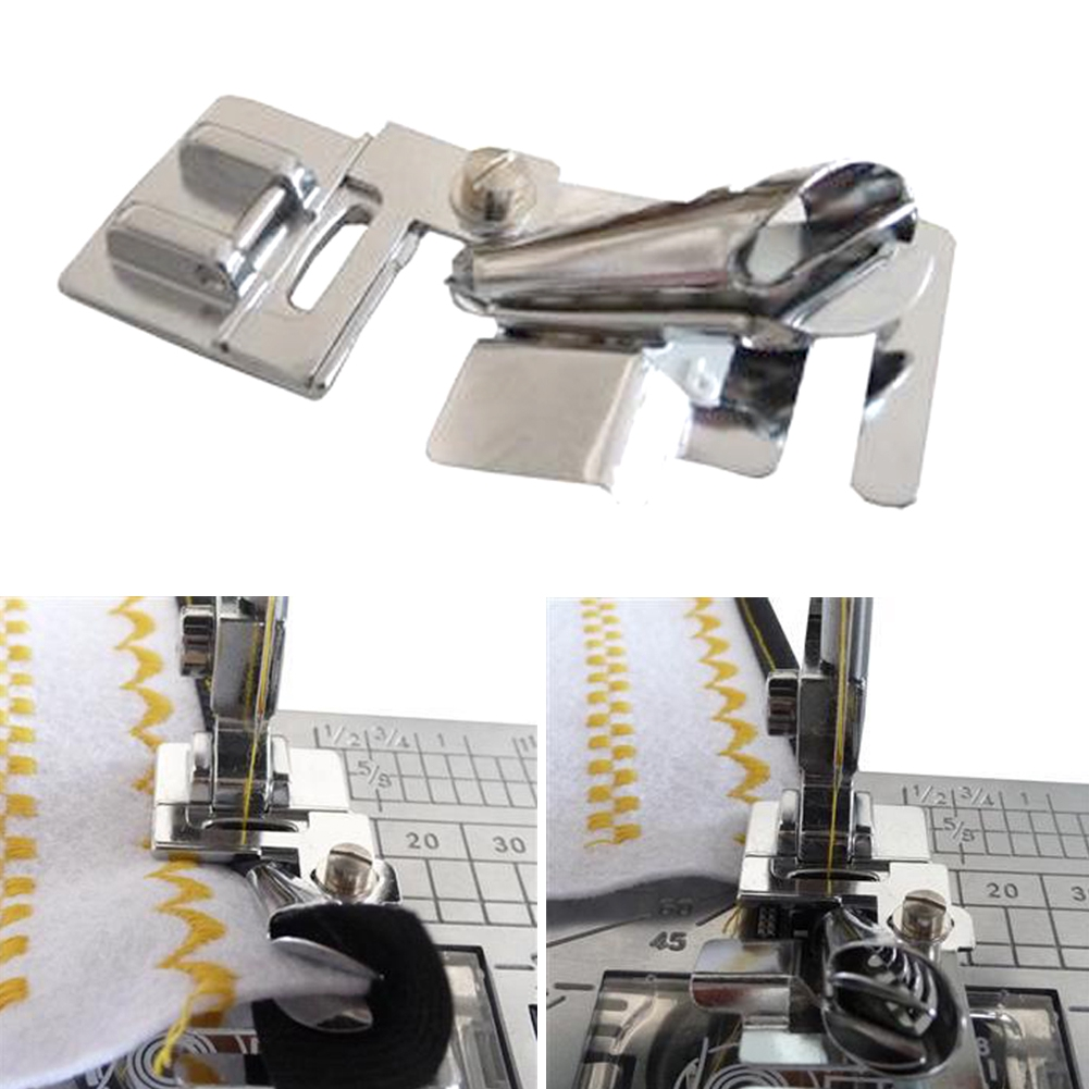 Durable Household Sewing Machine Parts Binder Foot Domestic Multi-Function Shell Hemmer Presser