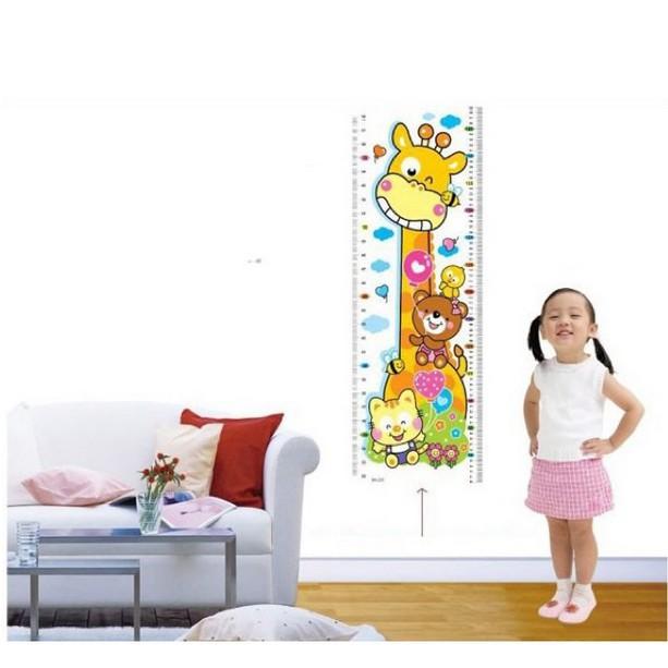 [HOT DEAL] thước đo-Thước đo chiều cao cho bé hình chú hươu cao cổ  | HÀNG MỚI