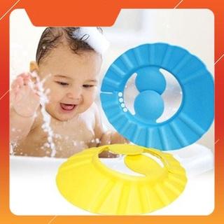 Mũ chắn nước gội đầu tránh nước tiện lợi cho bé yêu thumbnail