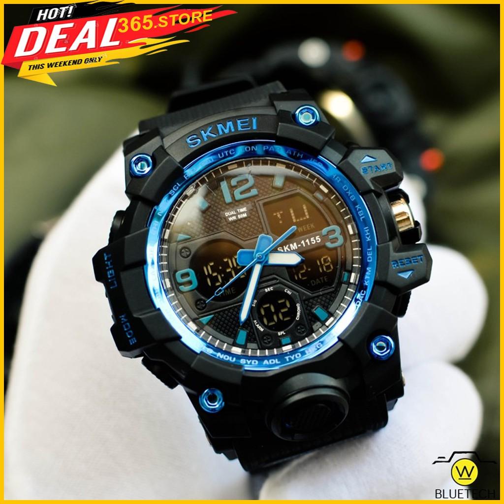 [Chính Hãng] Đồng hồ nam SKMEI 1155B điện tử thể thao chính hãng đa chức năng siêu bền chống nước
