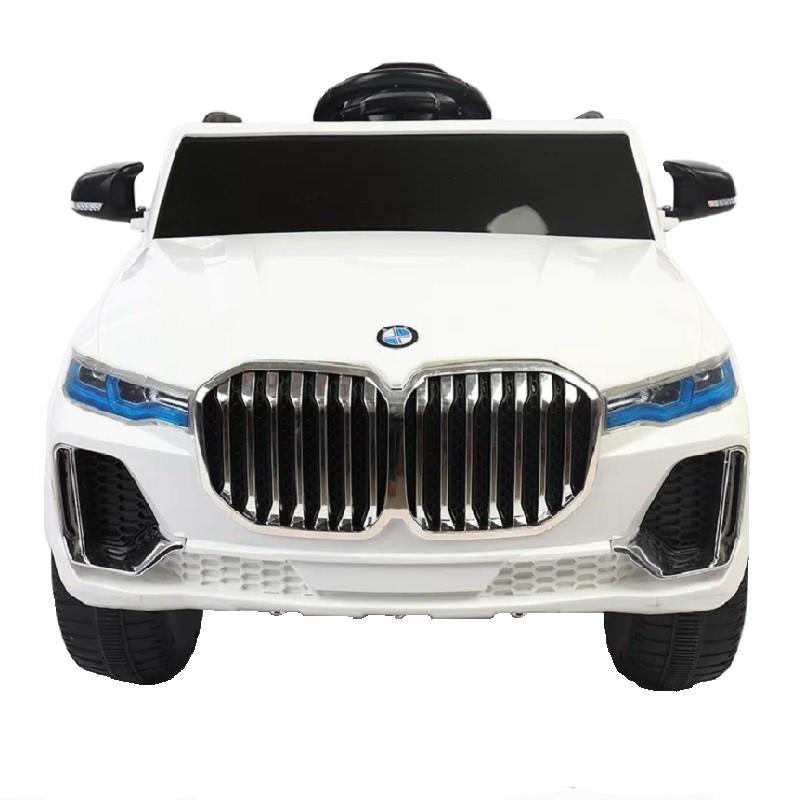 Ô tô xe điện đồ chơi BMW BJQ-X7 cho bé 2 động cơ 2 ắc qui (Đỏ-Cam-Trắng)