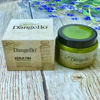 rẻ vô địch [Chính hãng] [Siêu rẻ] Dầu ủ phục hồi tóc hư tổn Dangello Keratin Hair mask 500ml