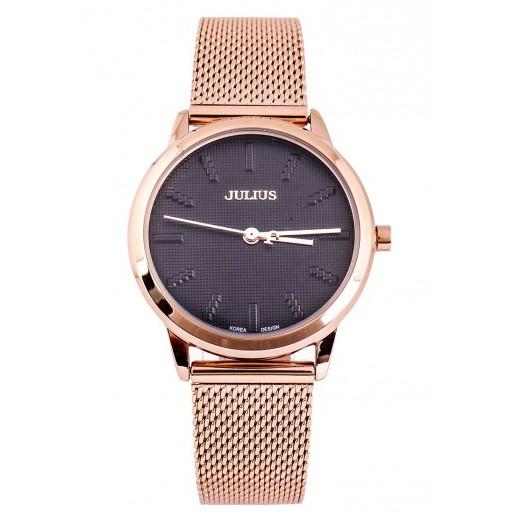 Đồng hồ nữ dây thép lưới Julius JA-982LE (Đồng đen) chính hãng Hàn Quốc - 3544522 , 1325784297 , 322_1325784297 , 986664 , Dong-ho-nu-day-thep-luoi-Julius-JA-982LE-Dong-den-chinh-hang-Han-Quoc-322_1325784297 , shopee.vn , Đồng hồ nữ dây thép lưới Julius JA-982LE (Đồng đen) chính hãng Hàn Quốc