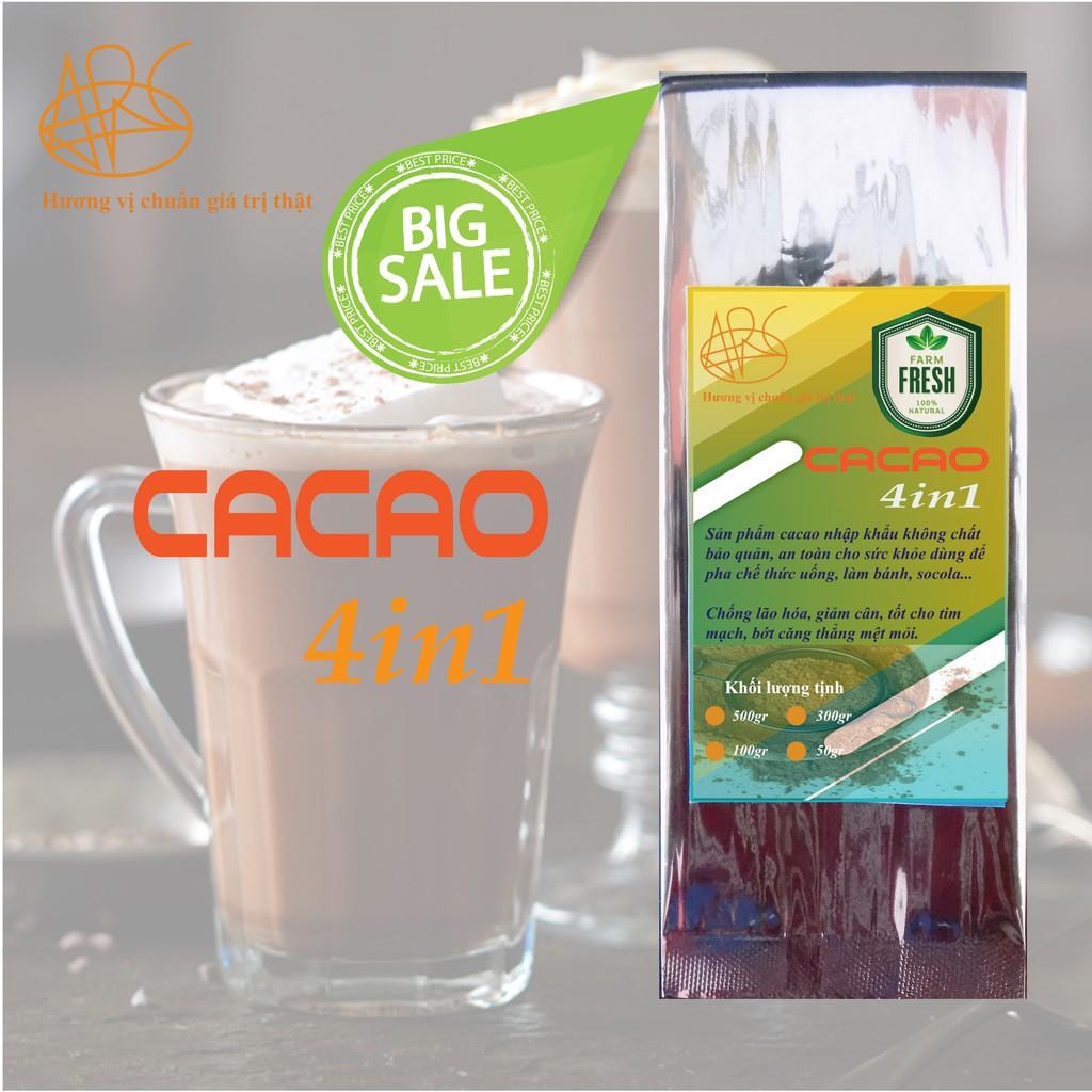 CACAO sữa hòa tan 4in1 100gr - ARC COFFEE&